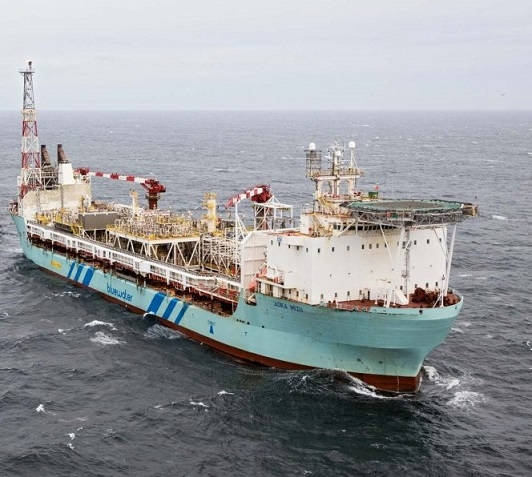FPSO Aoka Mizu; Source: Bluewater